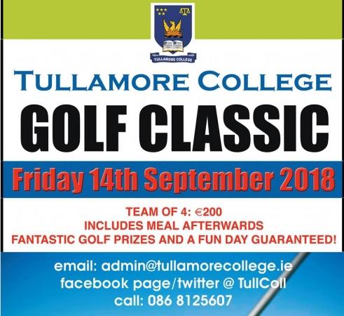 Tullamore College Golf Classic