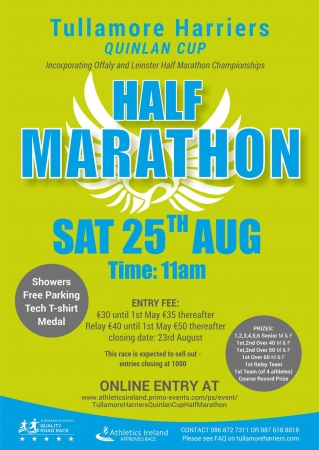 Tullamore Half Marathon