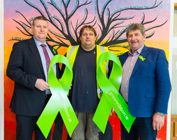 Green Ribbon Ireland Mental Health Stigma
