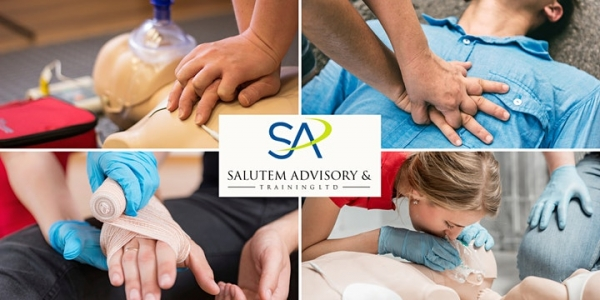 First Aid Responder Course 15th-17th June 2021 by Salutem Advisory & Training Ltd